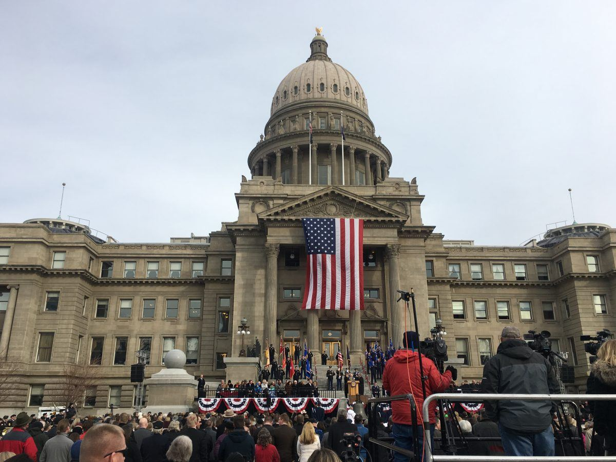 Idaho's new Governor delivers his State of the State address