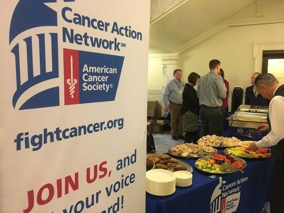 Cancer Action Network in the Capitol rotunda
