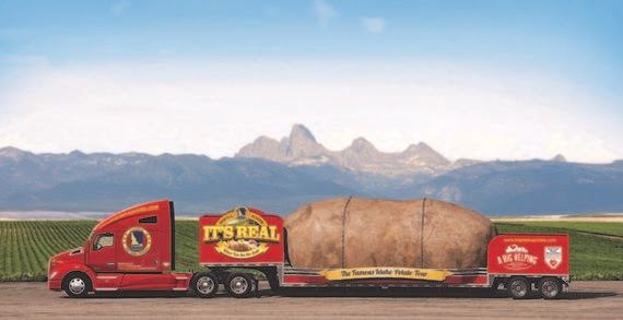 Idaho Potato Commission visits with Idaho Law Makers